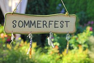 Sommerfest Konzept